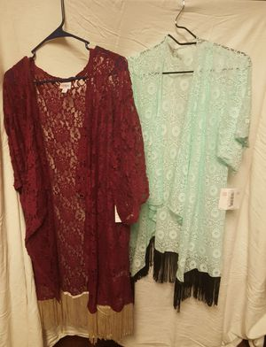 New With Tags Large Lace Kimonos Cardigans for Sale in Puyallup, WA