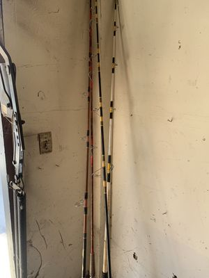 4 Used fishing poles for Sale in Anaheim, CA