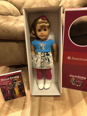 Genuine New American Girl Doll Courtney for Sale in Walnut, CA