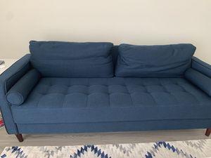 Blue sofa for Sale in University, VA