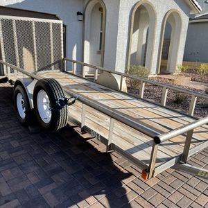 2006 Big Tex Utility Trailer 5 X 14 With Title In Hand for Sale in Henderson, NV