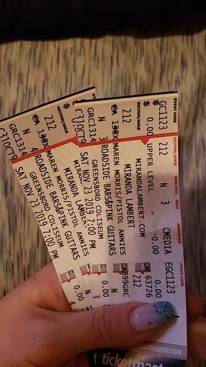 Miranda Lambert Tickets for Sale in Lewisville, NC