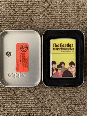 The Beatles Yellow Submarine 1999 Zippo Lighter for Sale in West Covina, CA