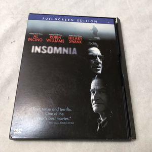 INSOMNIA (DVD) for Sale in Phoenix, AZ