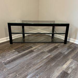 Corner Glass TV Stand for Sale in New Lenox, IL