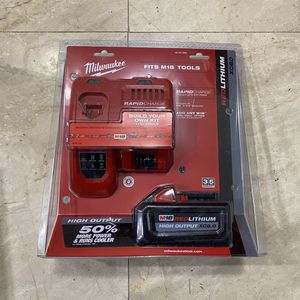 Milwaukee M18 8.0 battery pack for Sale in Houston, TX