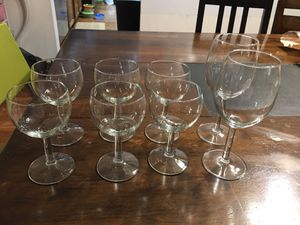 Wine glasses ( All for $6) for Sale in Fairfax, VA