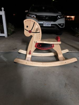 Rocking horse red and tan for Sale in Alexandria, VA