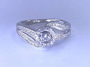 10k white gold ladies diamond ring for Sale in Phoenix, AZ