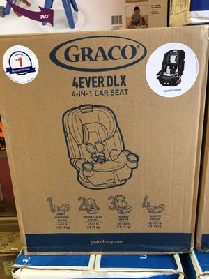 BRAND NEW CAR SEAT + ANY BOX OF DIAPERS OF YOUR CHOICE. 1 BOX ONLY. for Sale in Greece, NY