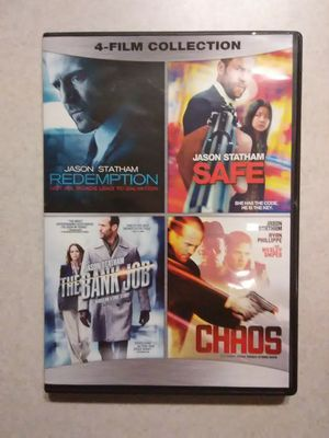 Jason Statham 4-film collection DVD for Sale in Snohomish, WA
