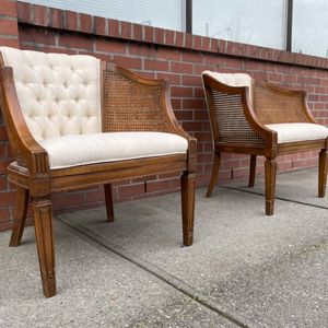Vintage Barrel Chairs excellent condition ($125 EACH) for Sale in Shoreline, WA