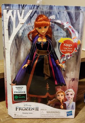 FROZEN II SINGING ANNA DOLL for Sale in Tucson, AZ