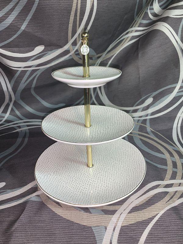 Jewelry Dish Tower