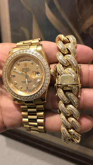 Watch and bracelet set for Sale in Poinciana, FL