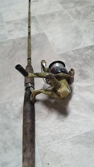 Camo fishing pole . for Sale in Orange, TX
