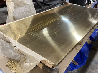 """1/4"""" Thick Bronze Panels for Sale in Kent,  WA"""