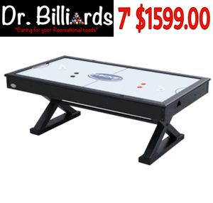 """The X-Treme"" 7 foot Air Hockey in Black by Berner Billiards for Sale in Hollywood, FL"