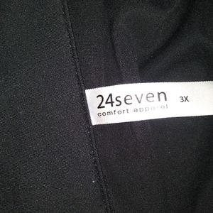 24Seven 3X Cardigan SS Plus Size All Black for Sale in Baltimore, MD