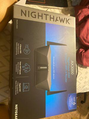 Nighthawk AX4 4-Stream Wifi 6 Router (AX3000) for Sale in Hopkins, SC