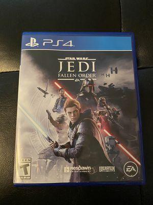 Star Wars Jedi the fallen order PS4 for Sale in Tempe, AZ