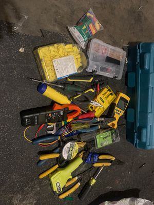 Electrician tools for Sale in San Jose, CA