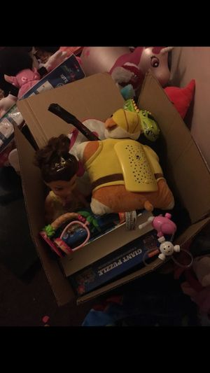 Box of toys for Sale in Yucaipa, CA
