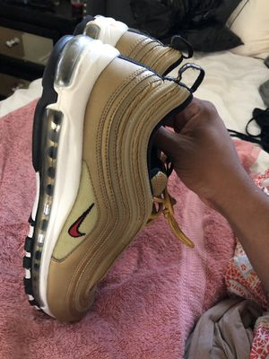 Nike Air max 97 Gold Ballet size 13 for Sale in Rancho Cucamonga, CA
