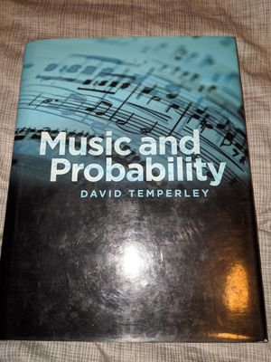 Music and Probability Hardcover Book for Sale in Prineville, OR