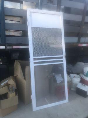 Security door wide 33 height 79 for Sale in Los Angeles, CA