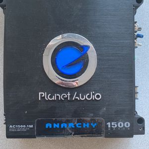 Planet Audio Ac1500.1m 1500 Watt Amp for Sale in San Diego, CA