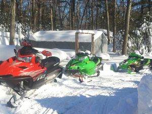 Package Deal Articat / Polaris sled with trailer for Sale in Bellingham, MA