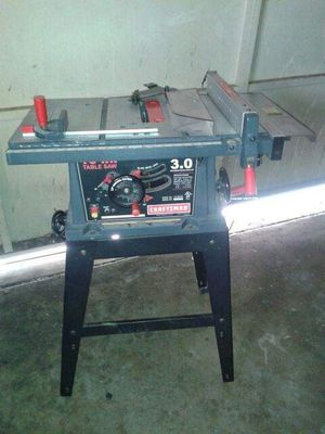 Craftsman table saw for Sale in Poway, CA