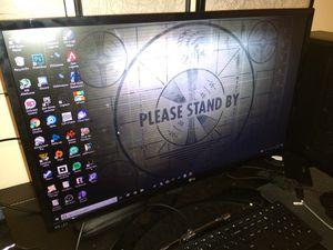 LG 75hz 1080p monitor for Sale in Pompano Beach, FL