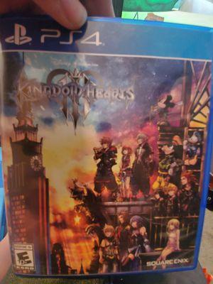 Kingdom Hearts 3 for Sale in Tacoma, WA