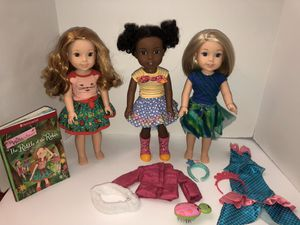American girl Willie Wishers dolls lot for Sale in Surprise, AZ