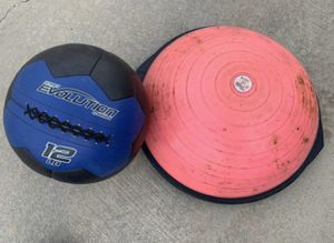 Exercise Balls. Medicine and 1/2 ball for Sale in Beaumont, CA