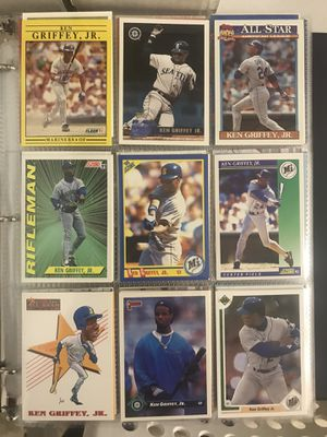 Lot #3: Collection of Baseball and Football Cards, mostly rookies and stars for Sale in Rockville, MD