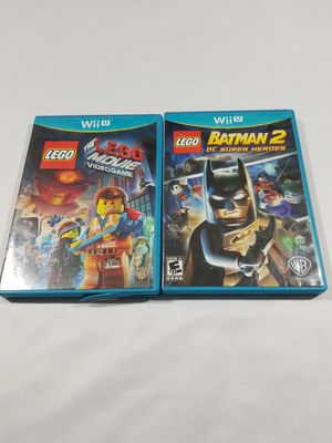 LEGO Movie Videogame /Lego Batman DC Superhero Lot/Nintendo Wii U/Fast Shipping for Sale in Winter Springs, FL