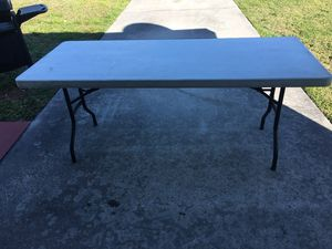Folding Table for Sale in Lehigh Acres, FL