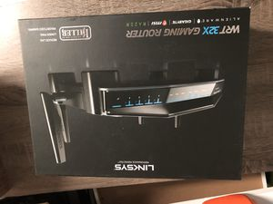 Linksys WRT32X AC3200 Dual-Band WiFi Gaming Router with Killer Prioritization Engine for Sale in Houston, TX