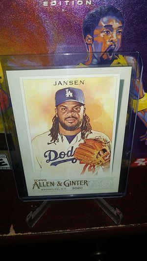 2020 Topps Allen & Ginter Baseball! Hot Kenley Jansen Card! for Sale in City of Industry, CA