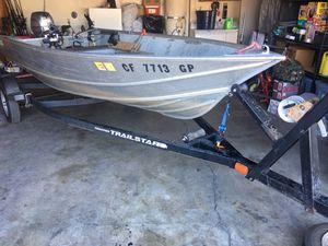 gregor aluminum boat 15ft for Sale in Stockton, CA