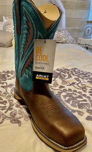 Brand new ladies size 9 boots steel toes for Sale in Port Allen, LA