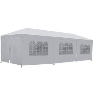 White Outdoor Gazebo Canopy Wedding Party Tent Gatherings Family Events Grills Cooking Meetings for Sale in Chicago, IL