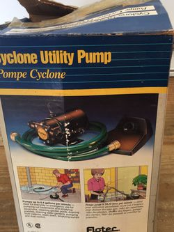 Cyclone Utility Pump for Sale in Jackson,  NJ