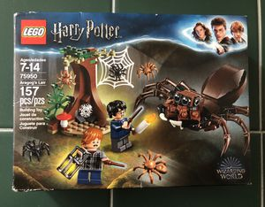 $20 Lego Harry Potter & The Chamber Of Secrets Aragog's Lair 75950 for Sale in Las Vegas, NV