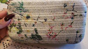 Flowered clutch handbag/purse for Sale in Stockton, CA