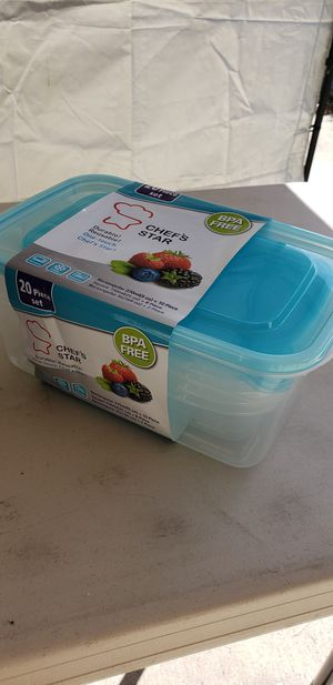 NIP 20pc storage container for Sale in San Diego, CA