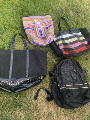 Victoria's Secret bags and Pink backpack for Sale in Lakewood, CO